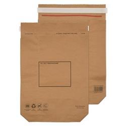 GoSecure Kraft Paper Mailer Bags 420x340x80mm (100 Pack) KMB1164