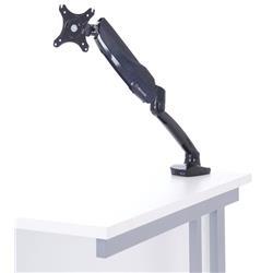 Easy Adjust Single Monitor Arm In Black Ref AC000020