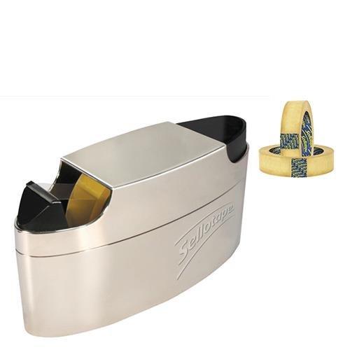 Pack 12 Sellotape 1443268 Original Golden Tape Roll Non-static Easy-Tear Large 24 mm x 66 m