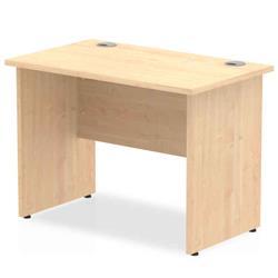 Image of Impulse 1000/600 Rectangle Panel End Leg Desk Maple - MI002471