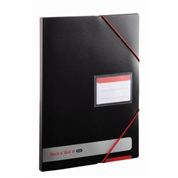 Black n Red by Elba Display Book Polypropylene Opaque Ref 400050725 - 2 for 1