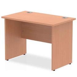 Image of Impulse 1000/600 Rectangle Panel End Leg Desk Beech - MI001728