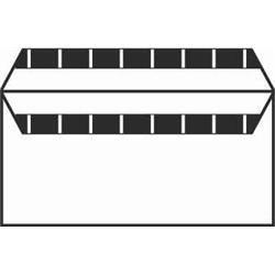 Severn Envelope White Wove 80gm DL 110x220mm Selfseal Ref 1144 [Pack 1000]