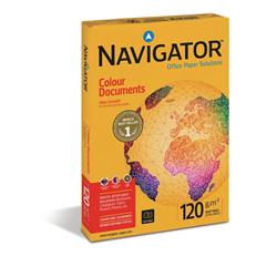 Navigator Colour Documents Paper Ream-Wrapped 120gsm A3 White Ref NCD1200017 [500 Sheets]