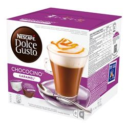 Nescafe Dolce Gusto Chococino Caramel 16 capsules (Pack 3) Ref NWT276