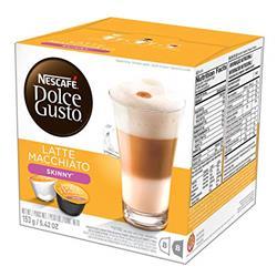 Nescafe Dolce Gusto Skinny Latte Macchiato 16 capsules (Pack 3) Ref NWT433