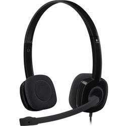 Logitech H151 Stereo Headset with Noise-Cancelling Microphone Ref 981-000589