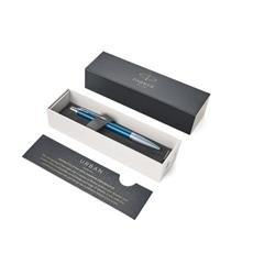 Penna a sfera Urban Premium dark - Parker - scatto - blu - 1mm - fusto blu