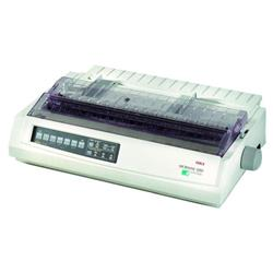 OKI Microline ML3391eco 24-pin Dot Matrix Printer 136 Columns 360x360dpi USB/Parallel (Epson LQ ESC/P2, IBM PPR, IBM AGM Emulations) Ref 01308503