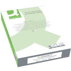 Carta A4 Q-connect - per stampe e copie - bianca - 80g/mq - conf. 1 risma da 500 fogli