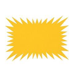 Targhette segnaprezzi Scatto - 22x15 - flash rettangolare - conf. 50