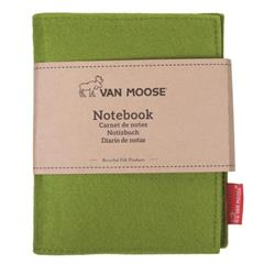 Agenda Van Moose - Trifold - verde - spiralato - 1R - 15,5x11,5cm