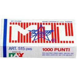 Punti metallici - 515 24/6 Zenith - conf. 10 da 1000 punti