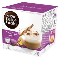 Nescafe Dolce Gusto Chai Tea Latte 16 capsules (Pack 3) Ref NWT1161