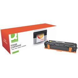Compatibile Toner Q-Connect giallo  KF16492. Equivalente a HP CF212A