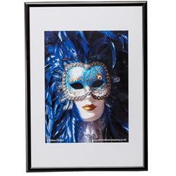 The Photo Album Company (A4) Certificate Frame Aluminium (Black) Ref PAAFA4BBLK