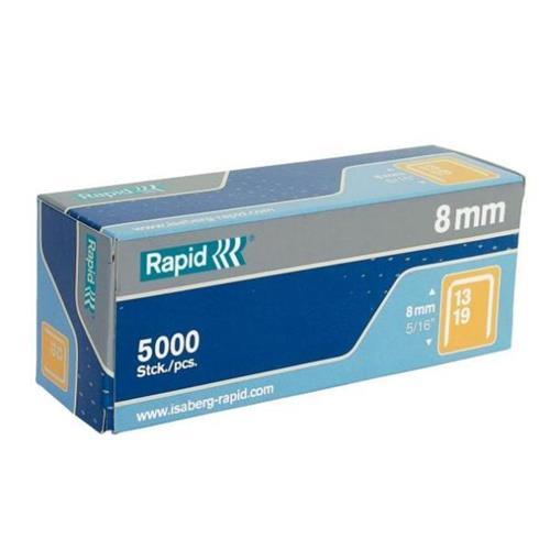 Rapid 11840600 Rapid No 13 Graffe a filo fine 10 mm Acciaio