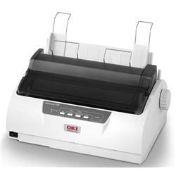 OKI Microline 1190 24-pin Dot Matrix Printer 80 Columns 360x360 dpi USB/Parallel/Serial (Epson LQ, IBM PPR or IBM AGM) - ECO Version Ref 01330001