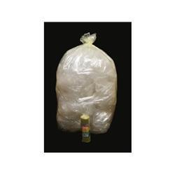 Sacchi immondizia - Rolsac - polietilene rigenerato - 70x110cm - 97 l - giallo trasp. - conf. 10