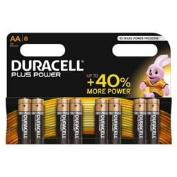 Duracell Plus Power Stilo Aa Duracell - conf. 8