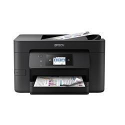 Epson WorkForce Pro 4720DWF (A4) Colour Inkjet Multifunction Printer (Print/Copy/Scan/Fax) 6.8cm LCD Touchscreen 20ppm (Mono) 20 ppm (Colour) 25,000 (MDC) Ref C11CF74401