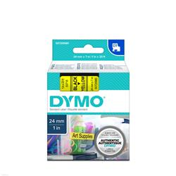 Edit Dymo D1  Black on Yellow S0720980