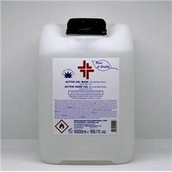 Gel igienizzante e disinfettante mani (alcol 70%) - Active - linea Bosco di Rivalta - 5 litri