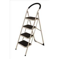 Image of Step Ladder 4 Tread White Frame - SLI359295