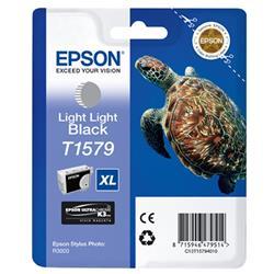 Epson T1579 Inkjet Cartridge Turtle 25.9ml Light Light Black Ref C13T15794010