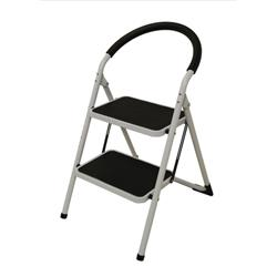 Image of Step Ladder 2 Tread White Frame - SLI359293