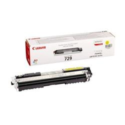 Canon Laser Toner Cartridge 729Y Page Life 1000pp Yellow Ref 4367B002