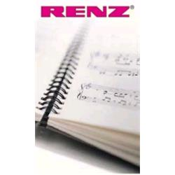 RENZ Wirepack 2:1 A4 Black 22mm - 720401