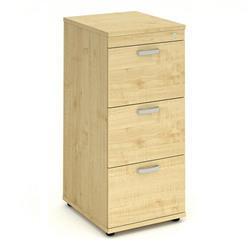 Impulse Filing Cabinet 3 Drawer Maple - I000253