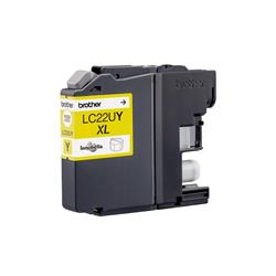 Brother Inkjet Cartridge High Yield Page Life 1200pp Yellow Ref LC22UY