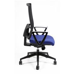 Sedia operativa ergonomica Nereide Unisit - ignifugo - blu - NDAE/IB