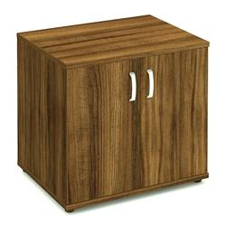 Impulse 600 Desk High Cupboard Walnut - I000122
