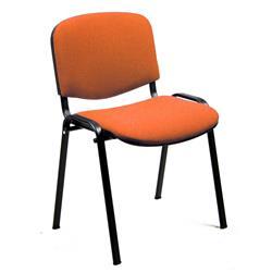 Sedia attesa Dado Unisit - polipropilene - arancione - D5S/4/EA - conf. 4