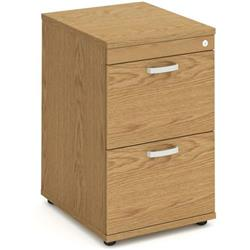 Impulse Filing Cabinet 2 Drawer Oak - I000780