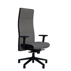 Poltrona direzionale ergonomica Next Unisit - similpelle - grigio - Next/KG