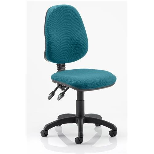 Office Chair Eclipse 1 Bespoke In Maringa Teal Operator Furniture
