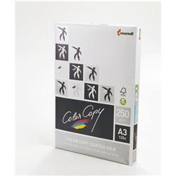 Color Copy Paper Coated Silk White FSC4 A3 420x29 7mm 250gm Ref 24894 [Pack 125]