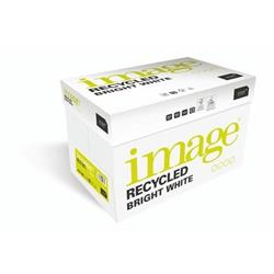 Image Recycled Bright White 100% Recycled A4 210X297mm 100Gm2 Ref 58955 [Pack 2500]
