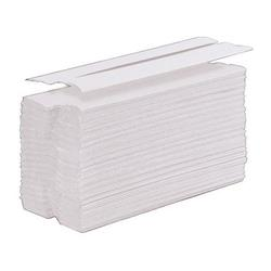 5 Star Facilities Hand Towel C-Fold One-Ply Recycled Size 230x310mm 100 Towels Per Sleeve White Pack 24