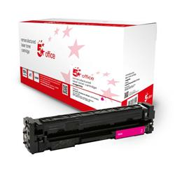 5 Star Office Remanufactured Toner Cartridge Page Life Magenta 1300pp [HP 203A CF543A Alternative] Ref 942911
