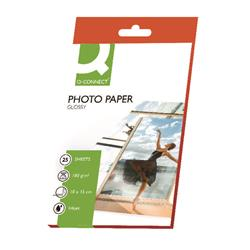 Q-Connect 10x15cm Gloss Photo Paper 180gsm (Pack of 25) Ref KF01905