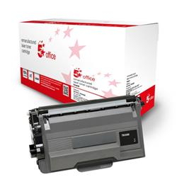 5 Star Office Remanufactured Toner Cartridge Page Life Black 8000pp [Brother TN3480 Alternative] Ref 942788