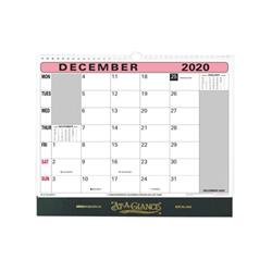 At-A-Glance 2020 Flip-over Wall Calendar Month to View 330x276mm Assorted Ref 90M 2020 Ref 90M 2020