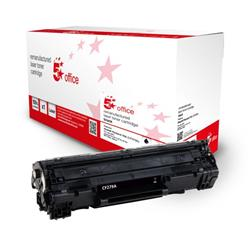5 Star Office Remanufactured Toner Cartridge Page Life Black 1000pp [HP 79A CF279A Alternative] Ref 943050