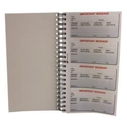 Q-Connect Duplicate Telephone Message Book 400 Messages Ref KF01336