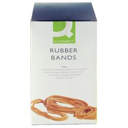 Q-Connect Rubber Bands Assorted Sizes 500g Ref KF10577